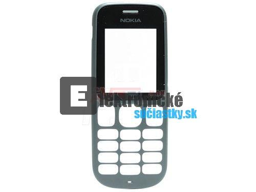 GSM Panel Nokia 101 cierny            - original - (PREDNY PANEL)