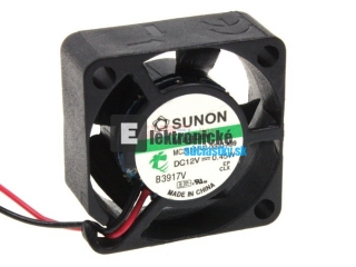 Ventilator   12V DC/  25x25x10mm - MC25101V2-A99