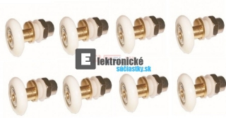 Box - Koliesko excentricke 23mm - 8ks SET